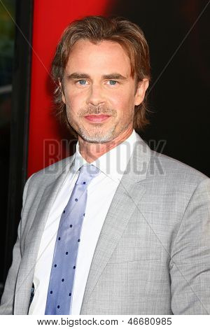 LOS ANGELES - JUN 11:  Sam Trammell arrives at the