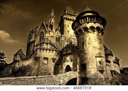 medieval dark castle