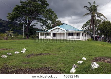Church In Rural Fiji