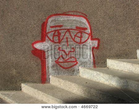 Graffiti And Stairs