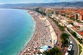 stock photo of public housing  - Luxury resort of French riviera - JPG