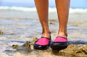 picture of pink shoes  - Water shoes  - JPG