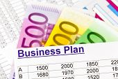 stock photo of self-employment  - a business plan for starting a business - JPG