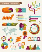 image of cube  - Elements and icons of infographics - JPG