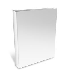 image of pamphlet  - collection of various blank white book on white background with clipping path - JPG