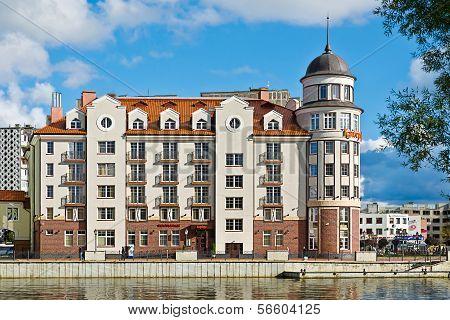 Fishing Village. Kaliningrad (until 1946 Koenigsberg), Russia
