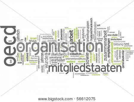 Word Cloud - Organization for Economic Co-operation and Development