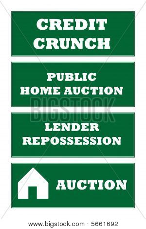 Home Repossession Signs