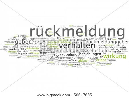 Word cloud - feedback