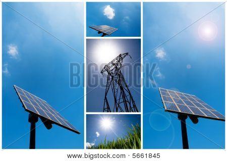 Solar Energy Collage