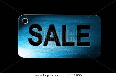 Sale On Blue