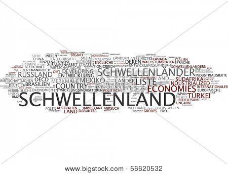 Word cloud - emerging country