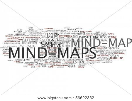 Word cloud - mind-maps