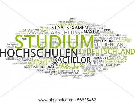 Word Cloud - Studies
