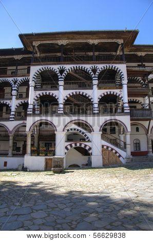 Rila Monastery in Bulgaria