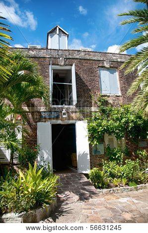 Historic Buildings at Nelsons Dockyard, Antigua