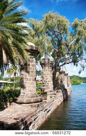 Nelson's Dockyard near Falmouth, Antigua, Caribbean
