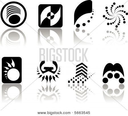 Vector logo set for yor company design