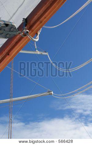 Loops Ropes Tackle On A Tall Ship