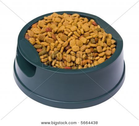 Pet Food With Clipping Path