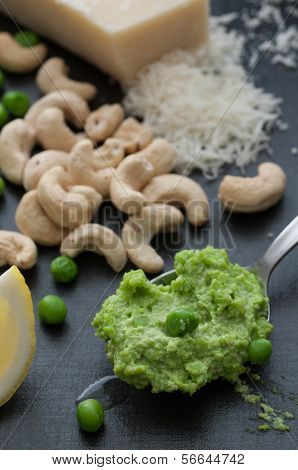 A Spoon Pea Pesto