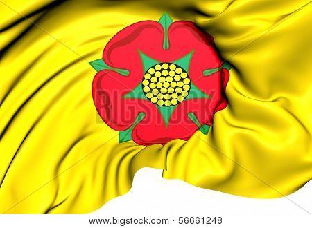 Flag Of Lancashire