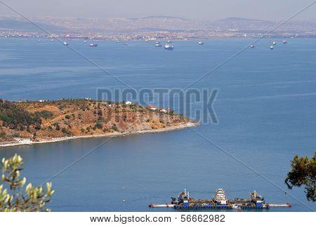 Marmara Sea Views From The Hilltop, The Princes' Islands