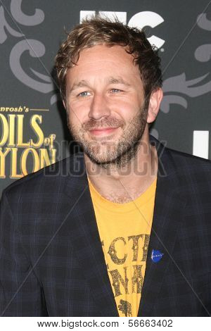 LOS ANGELES - JAN 7:  Chris O'Dowd at the IFC's