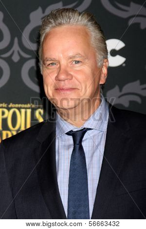 "LOS ANGELES - JAN 7:  Tim Robbins at the IFC's ""The Spoils Of Babylon"" Screening at Directors Guild of America on January 7, 2014 in Los Angeles, CA"