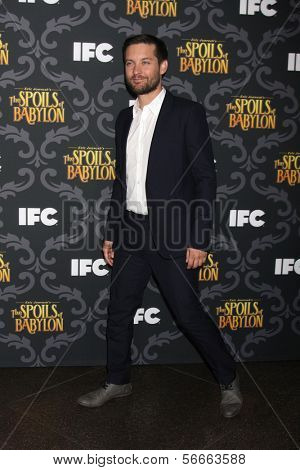 LOS ANGELES - JAN 7:  Tobey Maguire at the IFC's
