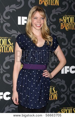LOS ANGELES - JAN 7:  Riki Lindhome at the IFC's