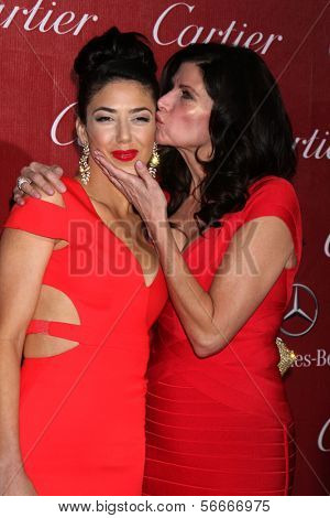 PALM SPRINGS - JAN 4:  Chianna Maria Bono, Mary Bono at the Palm Springs Film Festival Gala at Palm Springs Convention Center on January 4, 2014 in Palm Springs, CA
