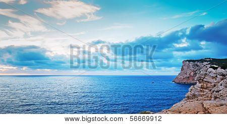 Capo Caccia Dusk