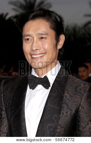 PALM SPRINGS - JAN 4:  Byung Hun Lee at the Palm Springs Film Festival Gala at Palm Springs Convention Center on January 4, 2014 in Palm Springs, CA