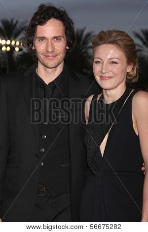 PALM SPRINGS - JAN 4:  Christian Camargo, Juliet Rylance at the Palm Springs Film Festival Gala at Palm Springs Convention Center on January 4, 2014 in Palm Springs, CA