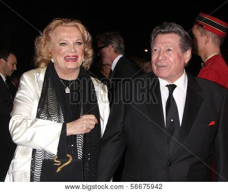 PALM SPRINGS - JAN 4:  Gena Rowlands at the Palm Springs Film Festival Gala at Palm Springs Convention Center on January 4, 2014 in Palm Springs, CA