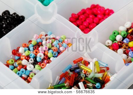 Beads In Boxes