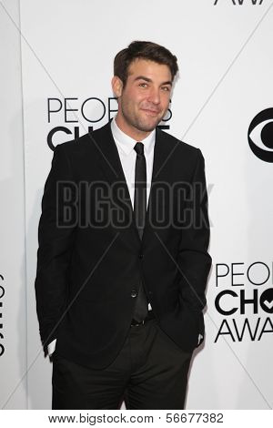 LOS ANGELES - JAN 8:  James Wolk at the People's Choice Awards 2014 Arrivals at Nokia Theater at LA LIve on January 8, 2014 in Los Angeles, CA