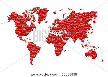 Love Map of the World