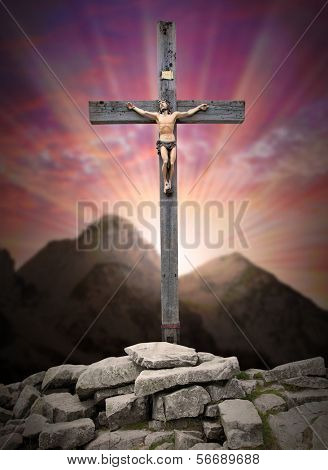 Jesus Christ on The Cross.
