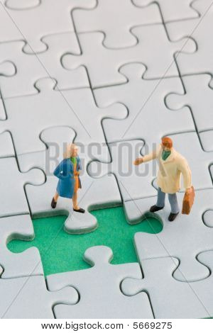 meeting on puzzle