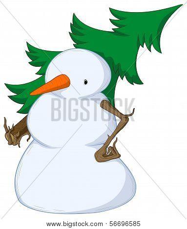 Snowman Spruce Shouldered