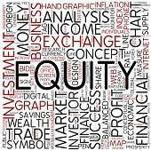 Word cloud - equity