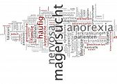 foto of anorexia nervosa  - Word cloud  - JPG