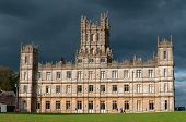 NEWBURY, UK - CIRCA OCTOBER 2011: Highclere Castle is the main setting for the ITV period drama Down