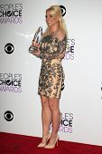 LOS ANGELES - JAN 8:  Britney Spears at the People's Choice Awards 2014 - Press Room at Nokia at LA