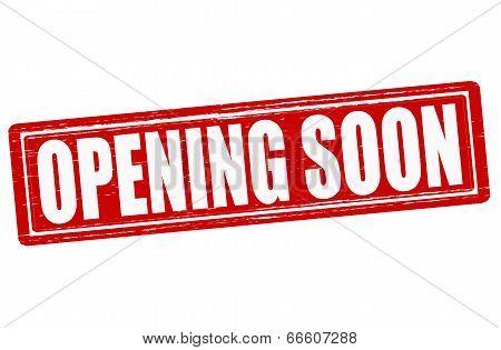 Opening Soon