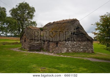 Old Leanach Cottage