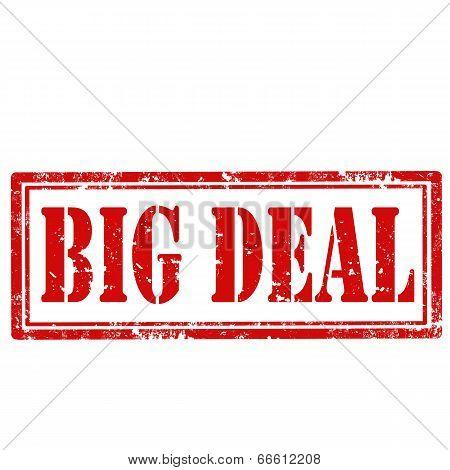 Big Deal-stamp