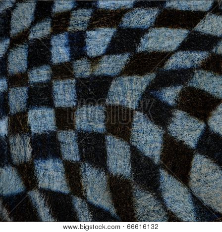 Beautiful Of Cross Camouflage Background Pattern Of Zebra Fur Texture